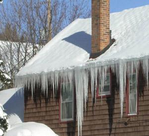 Minnesota House Ice Dams