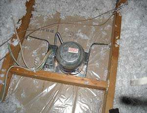 Blown-In Fiberglass Insulation