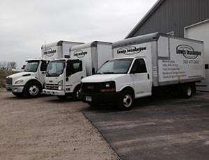 Lewis Insulation Trucks Minneapolis